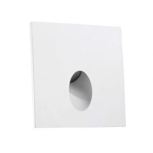 STEP LED 3,8W faretto segnapasso quadrato bianco