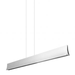 BRAVO LED lampada sospensione alluminio grigio opaco