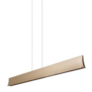 BRAVO LED lampada sospensione alluminio colore oro