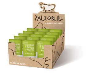 PaleoBull-Packung mit 15 Stück Banane Bars