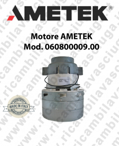 Motore aspirazione AMETEK ITALIA 060800009.00 per impianti centralizzati