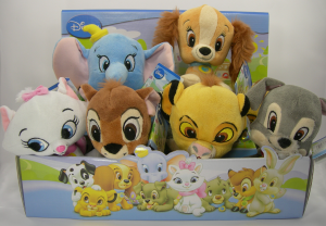 Disney Animal Friends Baby Tales peluche 15 cm velluto Bambi Dumbo Lilly