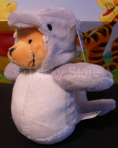 Disney Winnie the Pooh Zoo Costume Delfino peluche 15 cm Qualità Velluto Originale