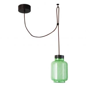 Lampada sospensione verde RAW LED 14W