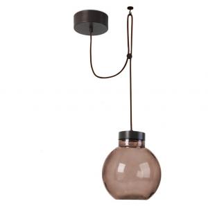 Lampada sospensione marrone RAW LED 14W