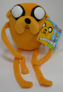 Adventure Time Jake peluche 25 cm Qualità Velluto Originale Cartoon Network