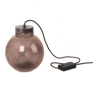 Lampada da tavolo marrone RAW LED 7W