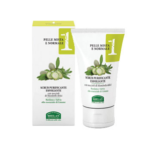 Scrub purificante esfoliante Helan 50 ml.