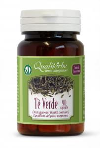 Tè Verde 90 Capsule - Azione drenante ed equilibrio del peso corporeo