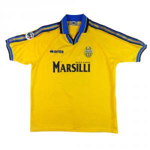 1999-00 Hellas Verona Maglia Away Match Worn#10 Adailton  XL  (Top)