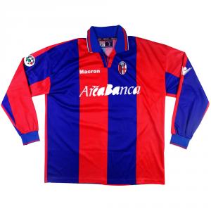 2002-03 Bologna Maglia Home Match Worn #34 Smit XL  (Top)