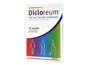 Dicloreum 10 Cerotti Medicati 180 gr diclofenac