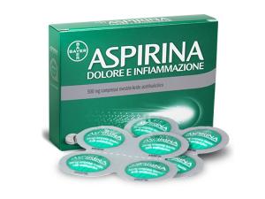 Aspirina dolore e infiammazione Bayer