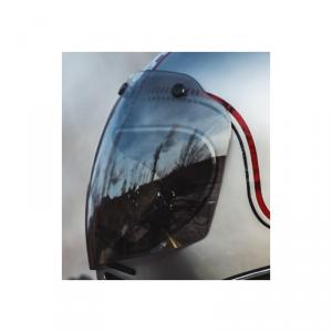 PREMIER MX Helmet Visor - Silver Chromed