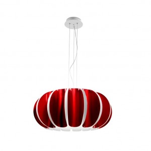 BLOMMA lampada sospensione rossa