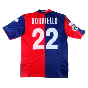 2007-08 Genoa  Maglia Home Match Worn #22 Borriello XXL (Top)