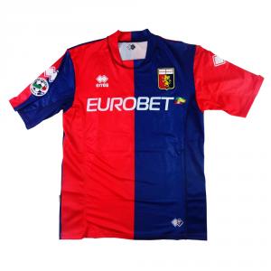 2007-08 Genoa  Maglia Home Match Worn #22 Borriello XXL (Top)