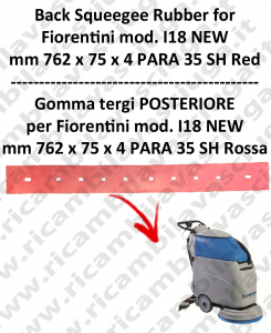 I18 NEW GOMMA TERGI posteriore per lavapavimenti  FIORENTINI