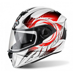 CASCO AIROH STORM ANGER RED GLOSS STA55