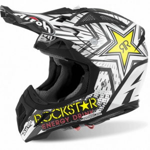 CASCO MOTO CROSS AIROH AVIATOR 2.2 ROCKSTAR MATT AV22RK611