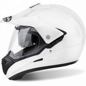 CASCO MOTO AIROH S5 COLOR WHITE GLOSS S514
