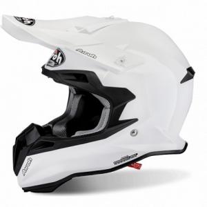 CASCO MOTO CROSS AIROH TERMINATOR 2.1 S COLOR WHITE GLOSS T2S14
