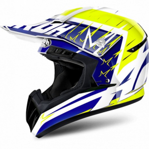 CASCO CROSS AIROH SWITCH STARTRUCK YELLOW GLOSS SWST31