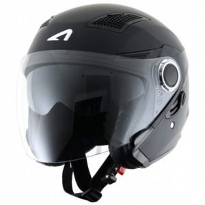 CASCO MOTO JET ASTONE FJ 10 MATT BLACK