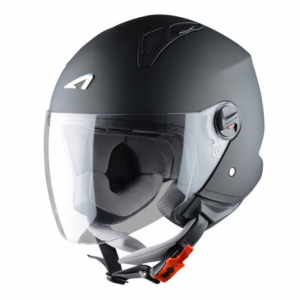 CASCO MOTO JET ASTONE MINIJET MATT BLACK