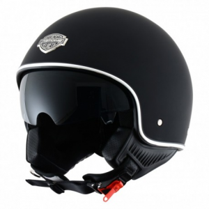 CASCO MOTO  JET ASTONE MINIJET 66 MATT BLACK