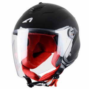 CASCO MOTO JET ASTONE MINIJET S GLOSS BLACK