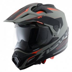CASCO MOTO ASTONE CROSS TOURER ADVENTURE GREY BLACK