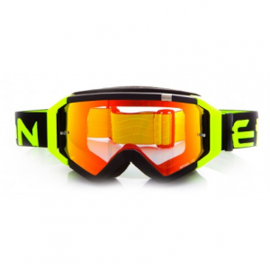 OCCHIALI CROSS ETHEN ZEROCINQUE MX0508 BLACK YELLOW FLUO MODELLO TOP