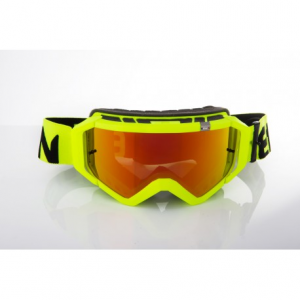 OCCHIALI CROSS ETHEN ZEROCINQUE MX0538 TOTAL YELLOW FLUO MODELLO TOP