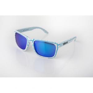 OCCHIALI SOLE ETHEN ICE ICO121 BLUE LENS - CRAQUELE BLUE WHITE