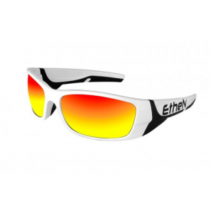 OCCHIALI SOLE ETHEN SNOW SNW03WB BLACK & WHITE-RED LENS