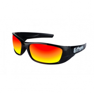 OCCHIALI SOLE ETHEN SNOW SNW09BB BLACK BLACK - RED LENS