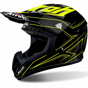 CASCO MOTO CROSS AIROH SWITCH SPACER YELLOW GLOSS SWSP31