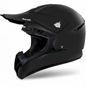 CASCO MOTO CROSS AIROH SWITCH COLOR BLACK MATT SW11