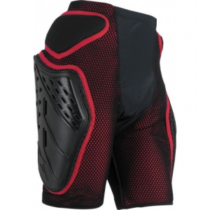 PANTALONI TUTORI MOTO ALPINESTARS BIONIC FREERIDE SHORTS BLACK RED