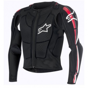 PROTEZIONE ALPINESTARS OFFROAD BIONIC PLUS JACKET BLACK RED WHITE
