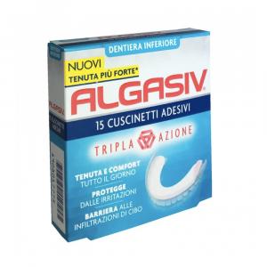 ALGASIV - ADESIVO PER PROTESI INFERIORE A LUNGA DURATA E COMBATTE I CATTIVI ODORI