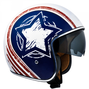 CGM 133S AMERICA Jet Helmet - Multicolor