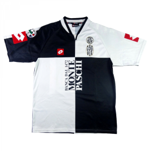 2004-05 Robur Siena Maglia Home Match Worn #76 Carparelli L (Top)