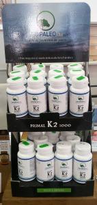 """Vitamina K2/MK7 - Scorta per un anno (400 Giorni) di """"Primal K2 1000"""" - 8 Flaconi"""