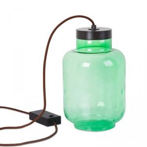 Lampada da tavolo verde RAW LED 7W