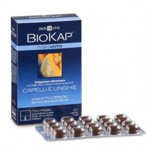 Integratore Capelli e Unghie Miglio Uomo Tricofoltil® Biokap - Biosline