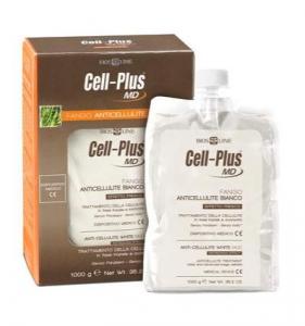 Cell-Plus MD Fango Anticellulite Bianco 1kg - Biosline