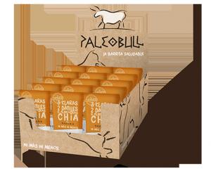 PaleoBull - Confezione da 15 Pezzi di Barrette all' Arancia