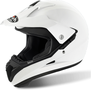 CASCO MOTO AIROH S5 COLOR WHITE GLOSS S514